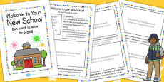 EAL Starter Welcome to Your New School Booklet EAL Romanian Translation