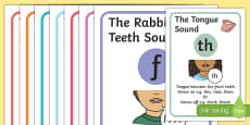 Visual Supports for Speech Sounds Fricatives