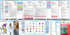 EYFS Winter Themed Adult Input Planning and Resource Pack