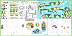 St Patricks Day Activity Pack
