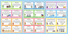 EYFS Superhero Themed Challenge Cards Resource Pack