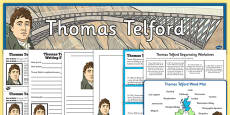 Scottish Significant Individuals Thomas Telford Resource Pack