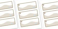 Wren Themed Editable Drawer-Peg-Name Labels (Colourful)