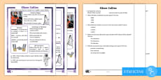 KS1 Eileen Collins Differentiated Comprehension Go Respond Activity Sheets