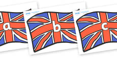 Phase 2 Phonemes on Union Jacks