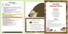 Hedgehog Busy Bag Plan