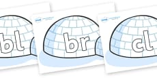 Initial Letter Blends on Igloos