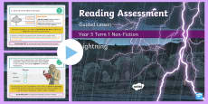 Year 5 Reading Assessment Non-Fiction Term 1 Guided Lesson PowerPoint