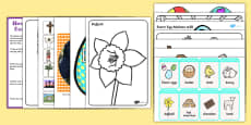 Easter Lapbook Creation Pack