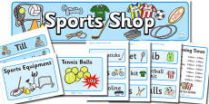 Sports Shop Role Play Pack