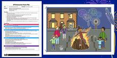 Bonfire Night EYFS Interactive Poster Plan