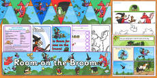 Childminder Resource Pack to Support Teaching on Room on the Broom