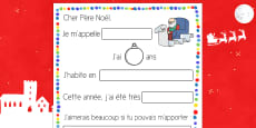 Letter to Father Christmas Procedure French