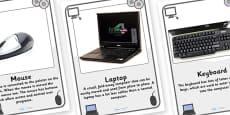 ICT Equipment in IT Suite Posters