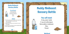 Muddy Minibeast Sensory Bottle