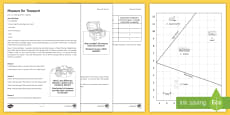 Measure for Treasure Game  Activity Sheets