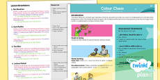 Art: Colour Chaos KS1 Planning Overview
