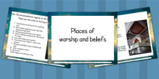 Places of Worship and Beliefs PowerPoint