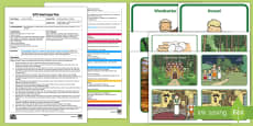 * NEW * Retelling Hansel and Gretel Adult Input Plan and Resource Pack