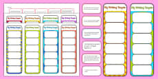 2014 Curriculum Year 1 English Writing Assessment Bookmarks and Cut Outs