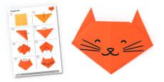 Origami Cat Activity