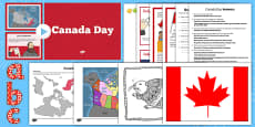 Top 10 Canada Day Resource Pack