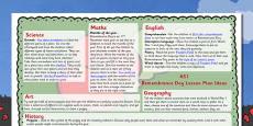 Remembrance Day Lesson Plan Ideas KS1