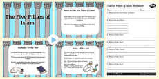 The Five Pillars of Islam PowerPoint and Activity Sheet Pack