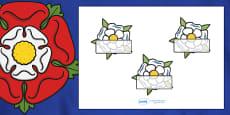 Editable Self Registration (The Tudors Yorkshire Rose)