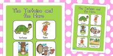 The Tortoise and the Hare Vocabulary Poster (Australia)
