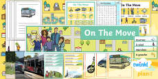 PlanIt - French Year 4 - On the Move Additional Resources