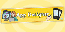 App Designers Role Play Banner