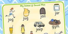 Initial 'j' Sound Mat