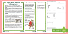 KS2 Gypsy, Roma and Traveller History Month Differentiated Reading Comprehension Activity