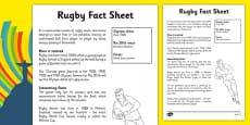 Rio 2016 Olympics Rugby Fact Sheet
