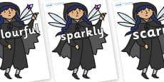 Wow Words on Evil Fairy