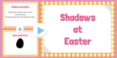Easter Themed Shadow PowerPoint