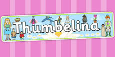 Thumbelina Display Banner