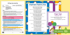 EYFS Playdough Play Finger Gym Plan and Resource Pack