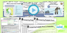 PlanIt - Geography Year 4 - All Around the World Lesson 3: Top and Bottom Lesson Pack