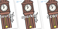 Wow Words on Clocks