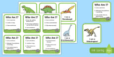 Dinosaur Information Matching Game