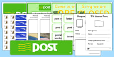 Irish Post Office Role Play Pack