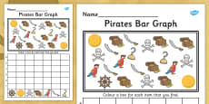 Pirates Bar Graph Activity Activity Sheet