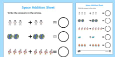 Space Addition Sheet