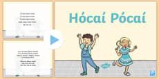 Hócaí Pócaí Song PowerPoint