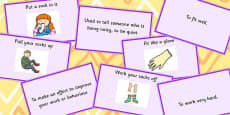 Clothes Idioms Matching Cards