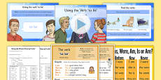 The Verb 'to be' Lesson Pack