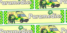 Paramedics Role Play Display Banner