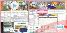 Science: Everyday Materials Year 1 Unit Pack